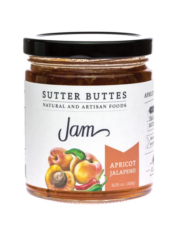 sutter buttes Apricot-Jalapeno jam
