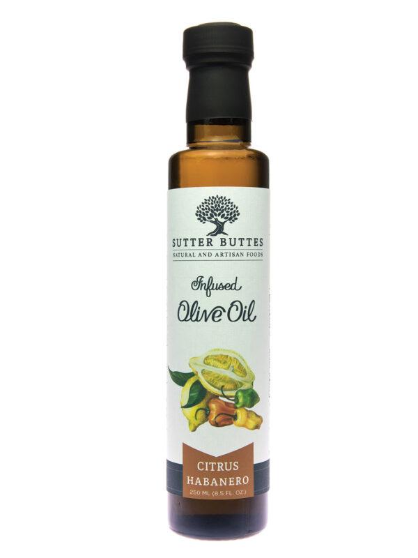sutter buttes Citrus-Habanero olive oil