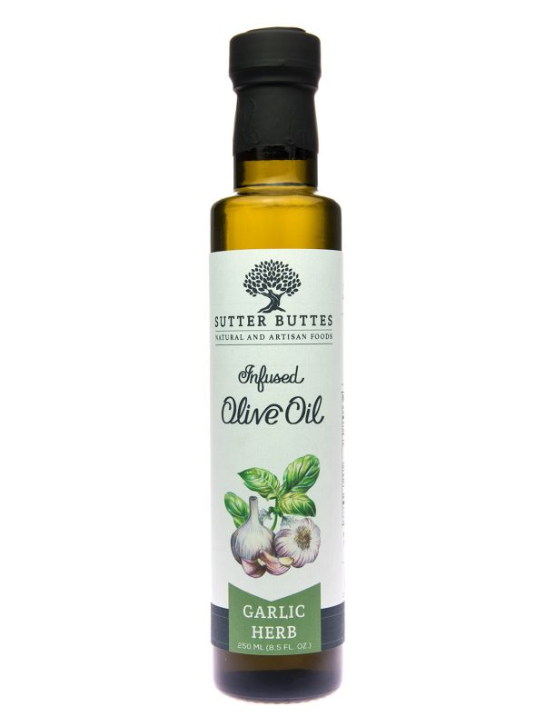 sutter buttes Garlic-Herb olive oil