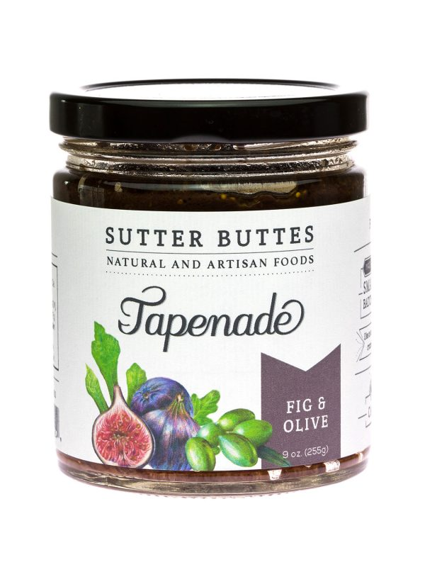 sutter buttes Fig-and-Olive tapenade