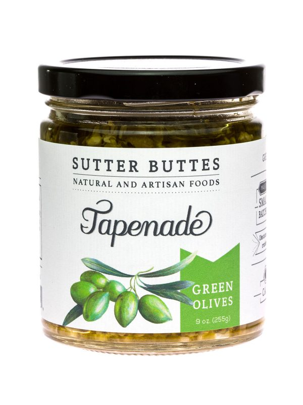 sutter buttes Green-Olive tapenade