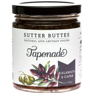 sutter buttes Kalamata-and-Caper tapenade