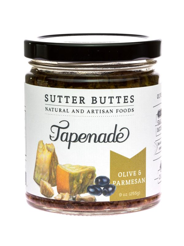 sutter buttes Olive-and-Parmesan tapenade