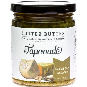 sutter buttes Parmesan-Asiaago tapenade