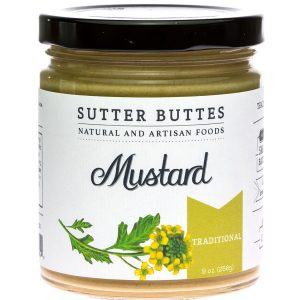 sutter buttes Traditional mustard