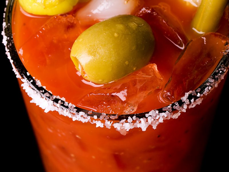 Sunday Morning Bloody Caesar