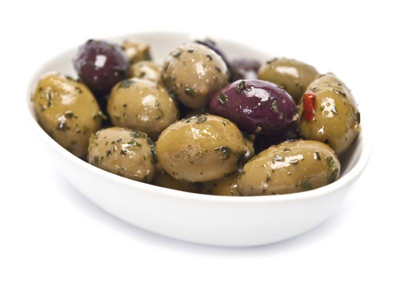 Herb Marinated Olive Medley