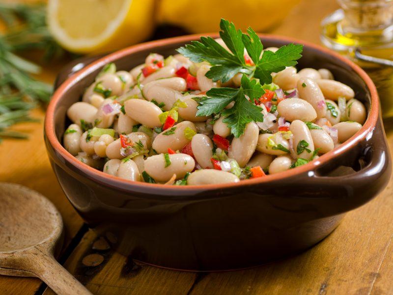 Parmesan White Bean Salad