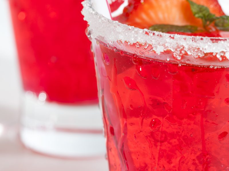 Fresh Strawberry Cocktails