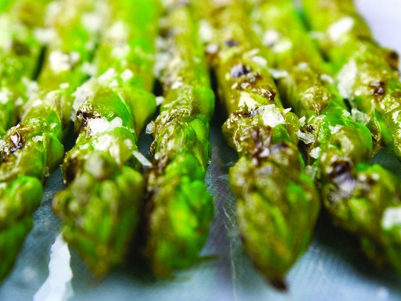 Grilled Garlic Asparagus