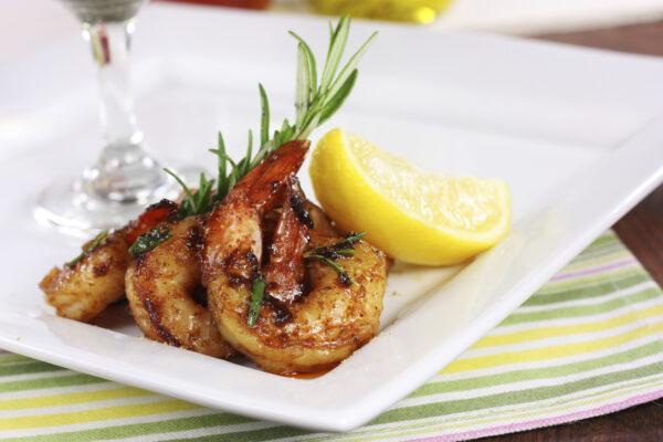 saute shrimp