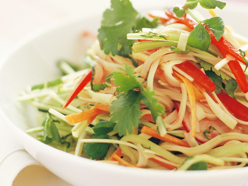 Spicy Cold Noodle Salad