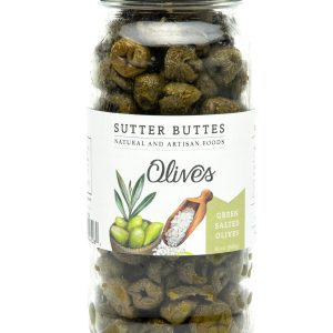 green dried salted olives