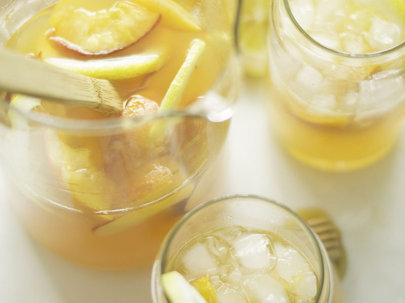 Peach Vodka Lemonade
