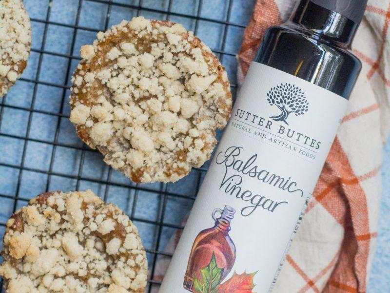 Maple Balsamic Cinnamon Muffins