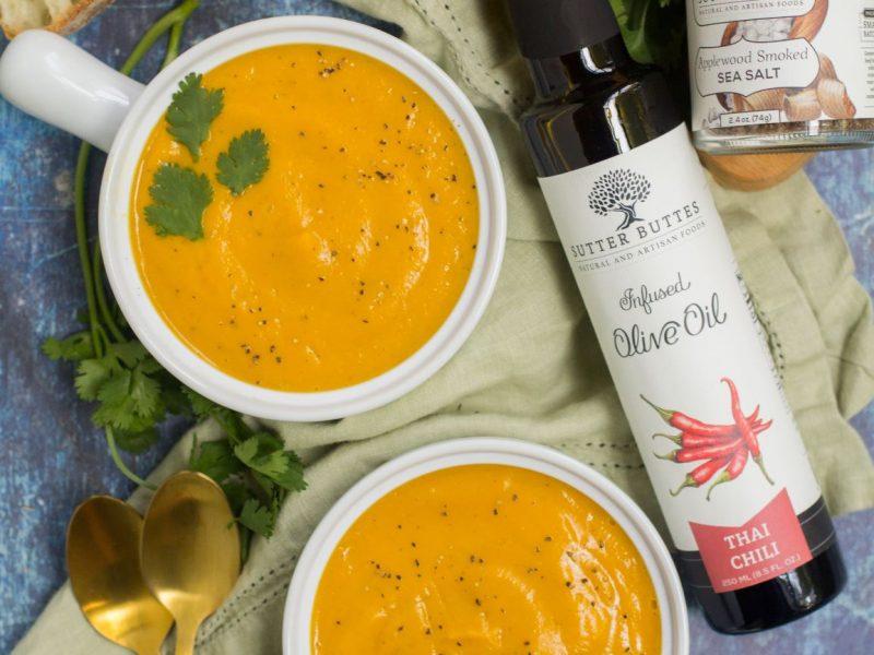Thai Chili Butternut Squash Soup
