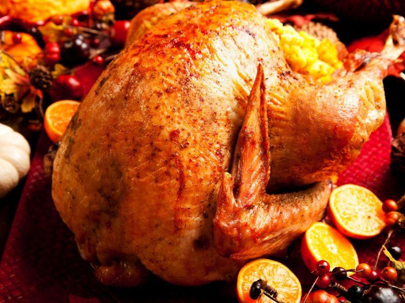 Juicy Oven Roasted Turkey