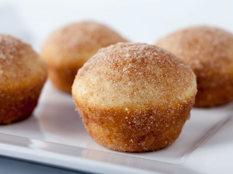 Light and Fluffy Cinnamon Sugar Muffins
