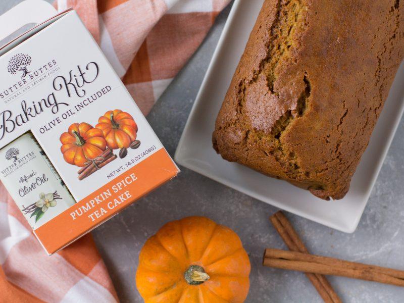 Pumpkin Spice Tea Cake