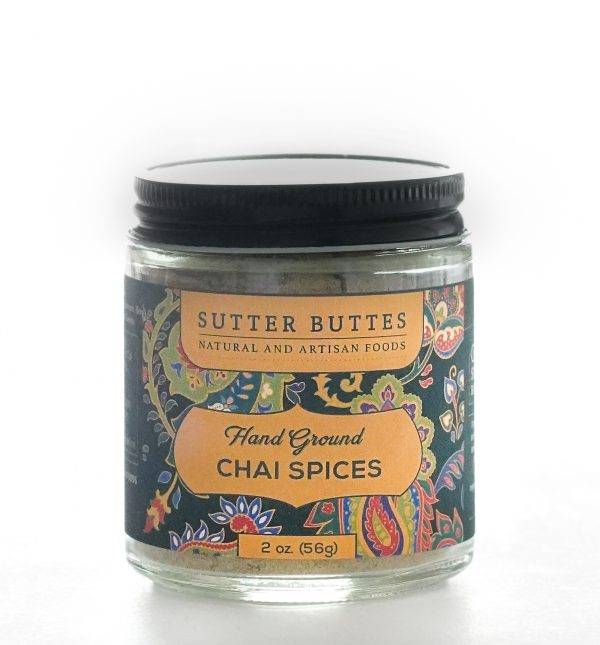 hand ground chai spices for tea and other cooking.